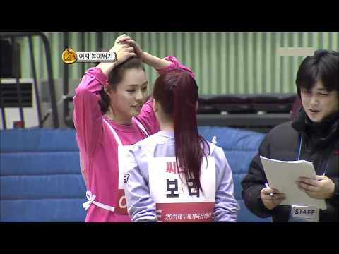 110206 Idol Sport Day - Girls High Jump Ep.1/2 [ F(x),Miss A,T-ara,AFS,Sistar ]