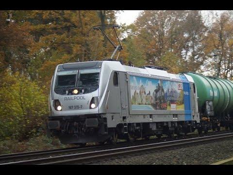 Sichtungen Am 26.11.2019 Teil 1 / DB Cargo,MRCE,Rail-Pool.
