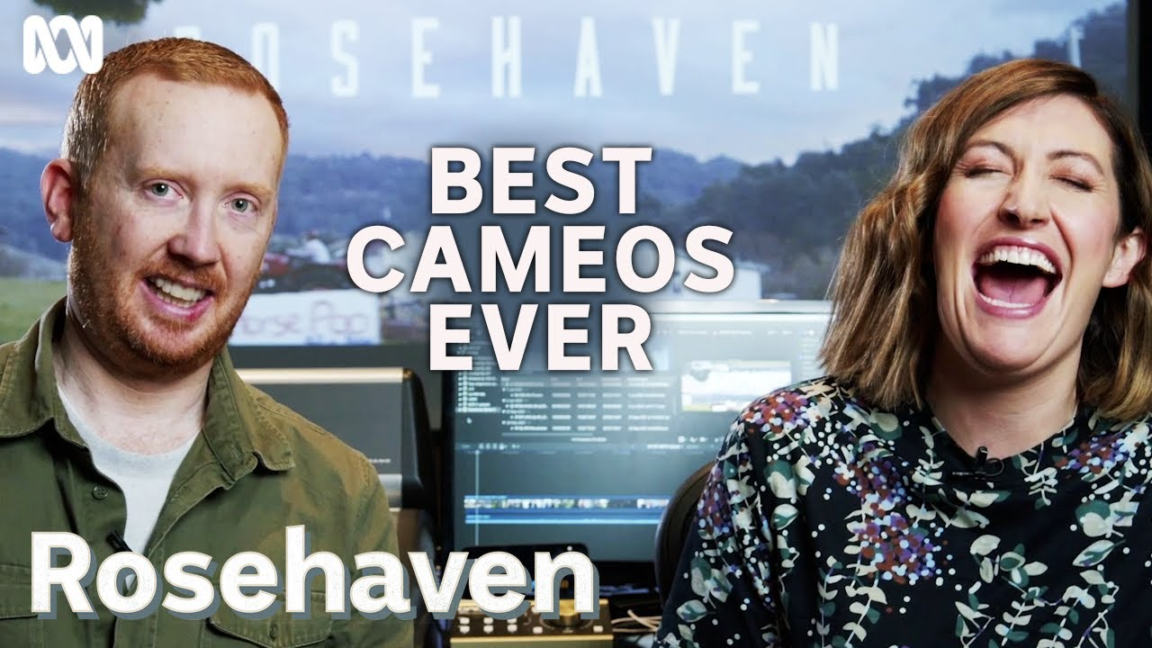 Download Luke McGregor and Celia Pacquola's favourite cameos   Rosehaven