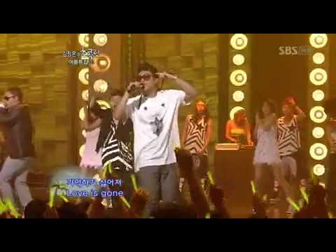 MC Mong Eun Ji Won Gilme  Janggeun   Ghetto Supastar Adios Circus  Love Cuts medley 090829
