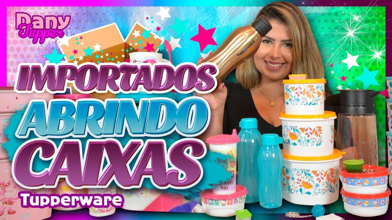 Download ABRINDO CAIXAS IMPORTADOS TUPPERWARE OUTUBRO 2021 | Dany Tupper