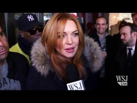 "Lindsay Lohan Interview on Her New Film ""Inconceivable"" | Sundance 2014"
