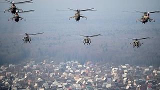 Сирия  Российские вертолеты выкуривают террористов Новости РОССИЯ СИРИЯ ИГИЛ