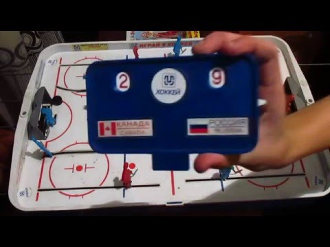 Уроки настольного хоккея 2003 - ч.1 - правила игры и общие понятия