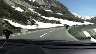 Driving from Innertkirchen to GrimselPass (BE-CH) / Part 1 / 6-2014 /FullHD