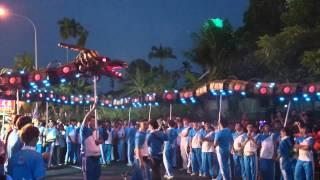2014年柔佛古庙 古来洪仙大帝体育会 黑甲龙
