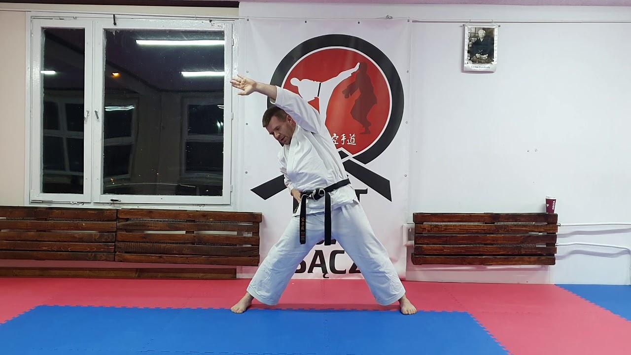 Trening karate dla początkujących 1