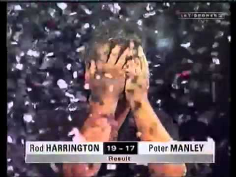 Rod Harrington wins World Matchplay 1999 in style