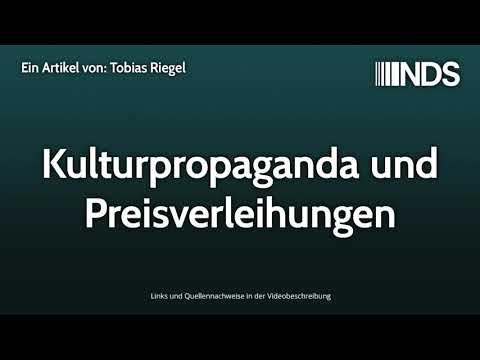 Kulturpropaganda und Preisverleihungen | Tobias Riegel | NachDenkSeiten-Podcast