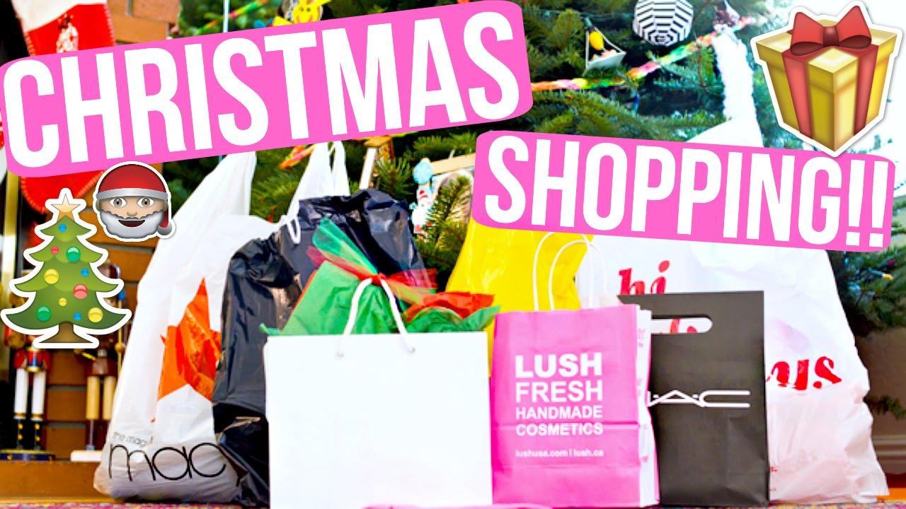 CHRISTMAS SHOPPING FOR ASHLEY + HAUL!! VLOGMAS DAY 17 ...