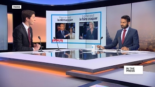Macron and Le Pen gear up for TV debate  A battle of egos?