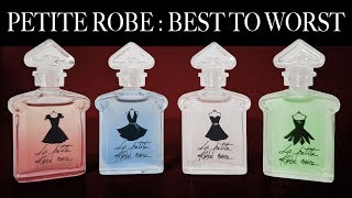 GUERLAIN LA PETITE ROBE NOIRE PERFUME COLLECTION OVERVIEW | Best To Worst Ranking