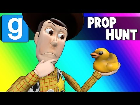 Thumbnail: Gmod Prop Hunt Funny Moments - Rubber Duckies & Bullet Ploof Grass! (Garry's Mod)
