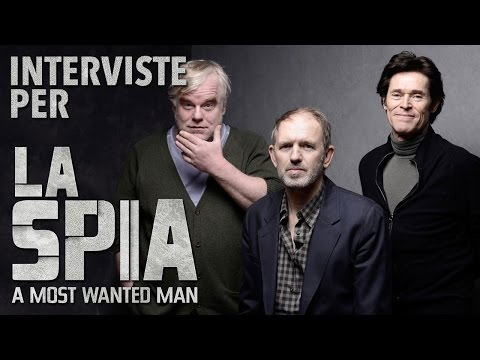 LA SPIA - A MOST WANTED MAN | Willem Dafoe And Anton Corbijn Interview