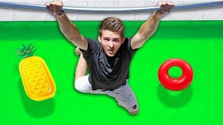 DONT Fall into the Pool of SLIME Challenge!!