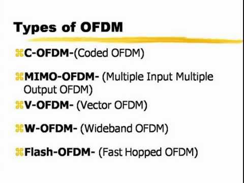 Orthogonal Frequency Division Multiplexing Pdf