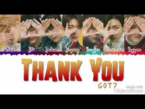 Got7 - Thank you -Arabic sub-