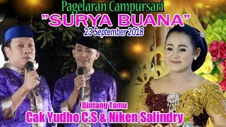 "Video #LIVE Campursari ""SURYA BUANA"" - BT ""Cak Yudho C.S & Niken Salindri"" download MP3, 3GP, MP4, WEBM, AVI, FLV September 2018"