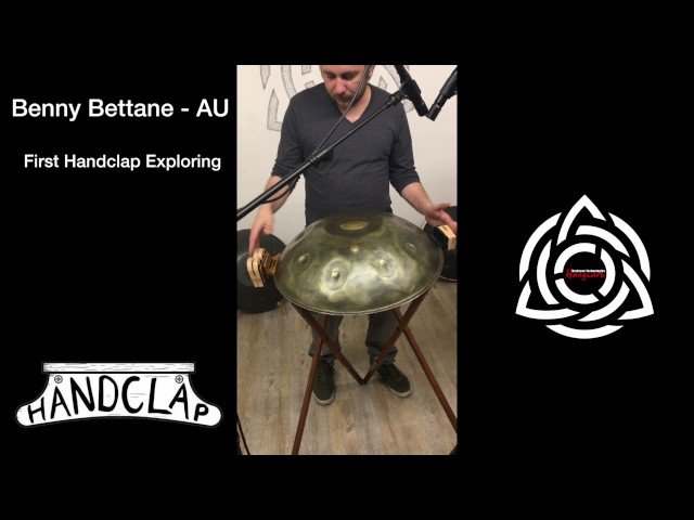 Exploring Handclap - ADD-on for Handpan by Hardcase Technologies