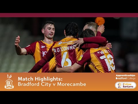 Bradford Morecambe Goals And Highlights