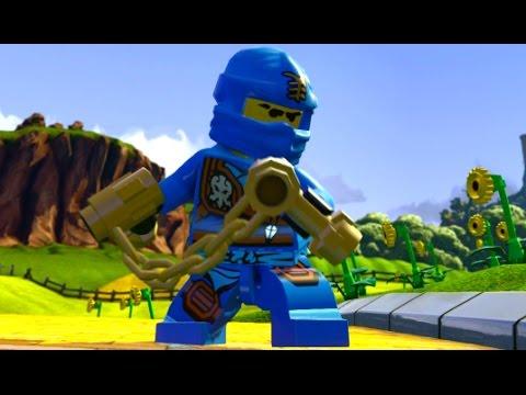 LEGO Dimensions – Jay (Ninjago) Open World Free Roam (Character Showcase)