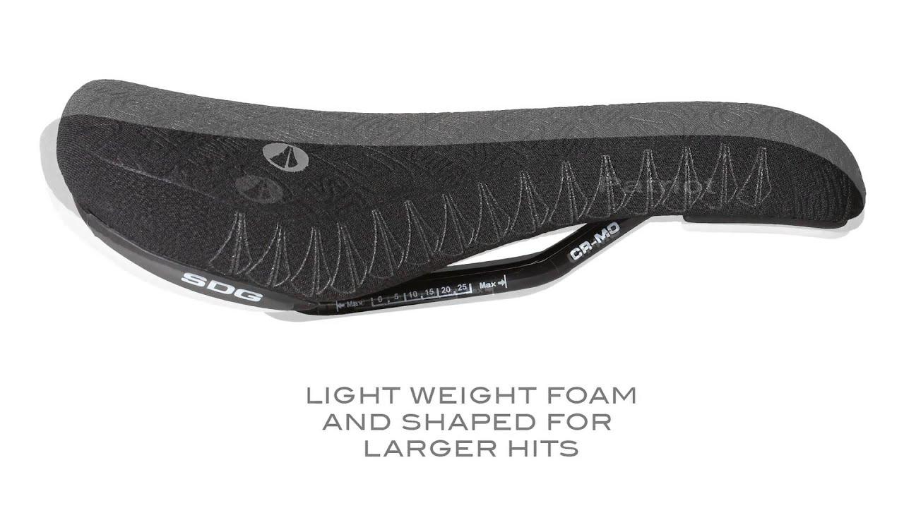 SDG Apollo I-Beam saddle black//grey