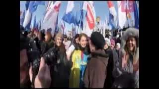 Перфоманс на Майдане Украинская пленница