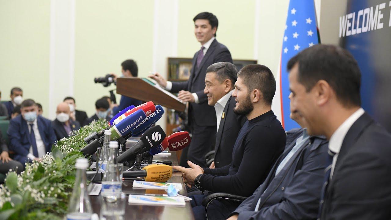 Зал нашего отца всегда открыт для бойцов из Узбекистана — Хабиб Нурмагомедов