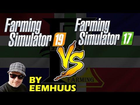 Farming simulator 2019 Versus Farming Simulator 2017 By Eemhuus! thumbnail
