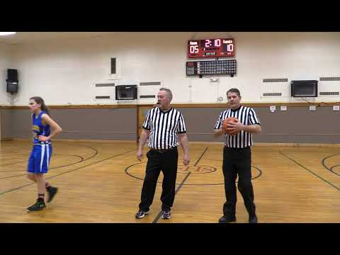 Faith Fellowship Christian School (Flames) vs. Holy Cross (Crusaders)Game One. Girls Basketball.