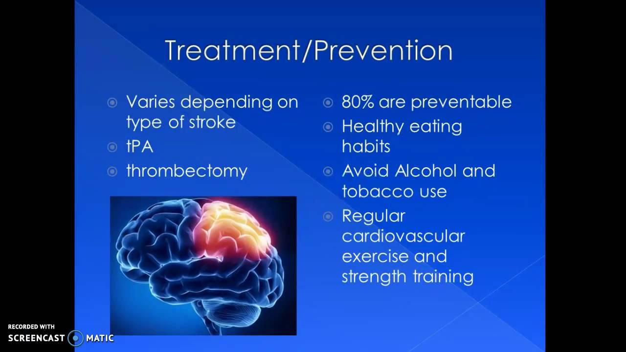 cerebrovascular accident