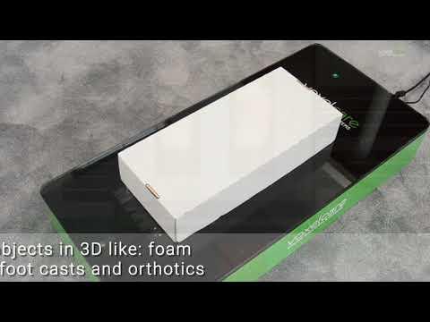 Voxelcare 3D Laser Foot Scanner
