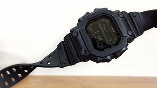G-Shock BLACK OUT BASIC KING - GXW-56BB-1JF Multiband 6 version unboxing & review