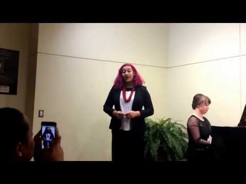 """Layla Huff performs """"I'm Still Hurting"""" (""""The Last 5 Years"""")"""