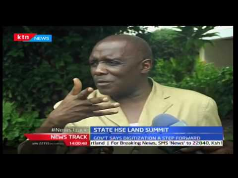 Newsdesk - 14th November 2016 - National Lands Commission seeking solution over land controversies