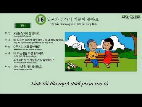 Nghe hội thoại tiếng hàn 60 bài đã dịch sang tiếng Việt full basic korean conversation