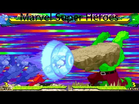 Marvel Super Heroes Vs. Street Fighter - Hyper Combos!