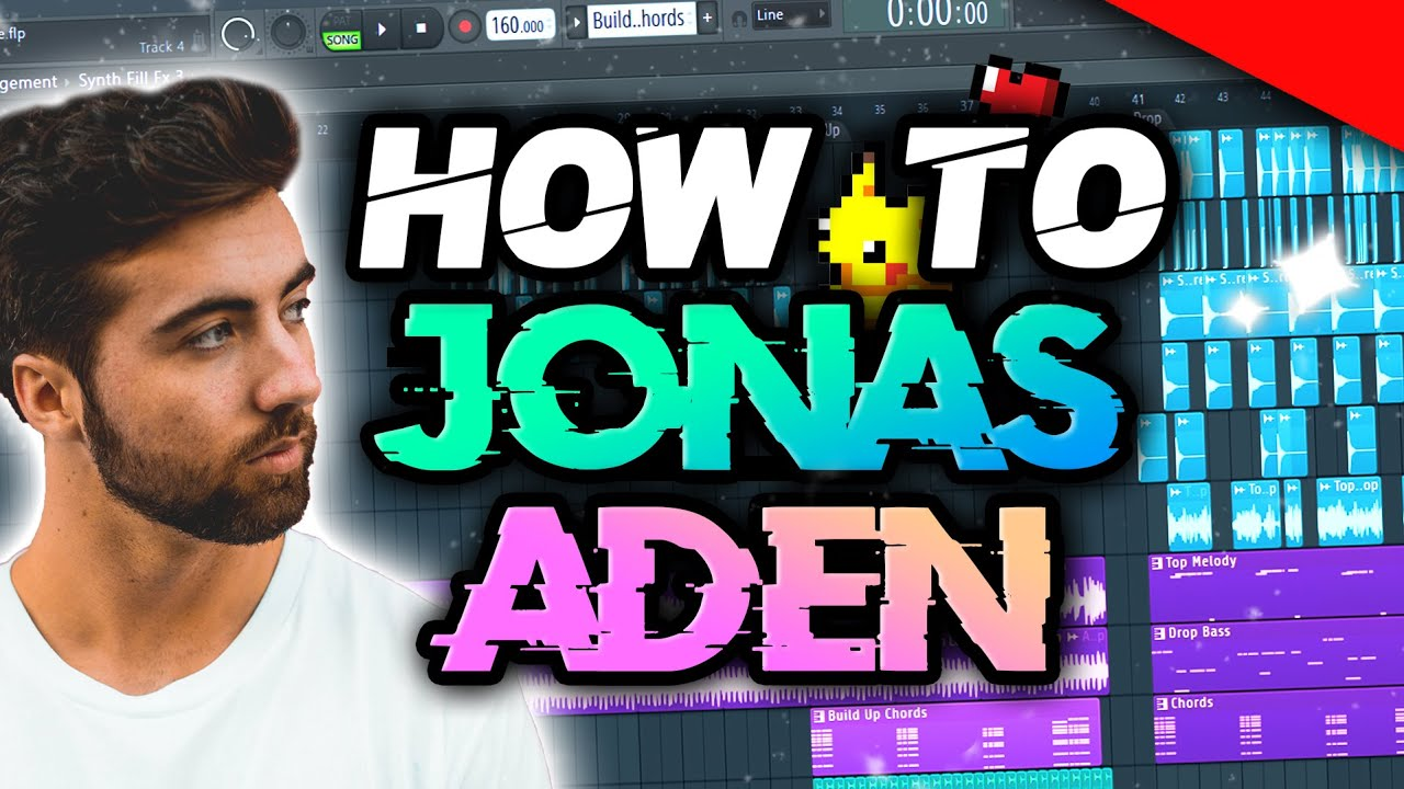 HOW TO MAKE MUSIC LIKE JONAS ADEN | FREE FLP