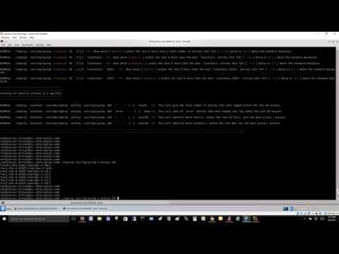Mathematical analysis of log data on Linux / Unix Systems
