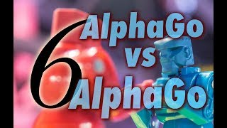 AlphaGo vs. Alphago with Michael Redmond 9p: Game 6