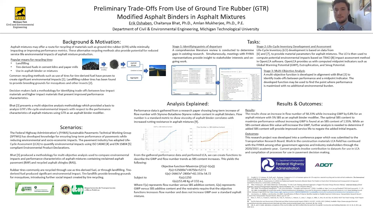 Preview image for Preliminary Trade-Offs from the Use of Styrene-Butadiene-Styrene (SBS) Modified Asphalt Binders in Asphalt Mixtures video