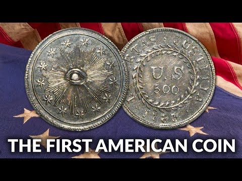The First American Coin