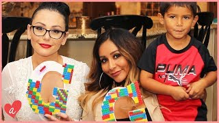 Snooki & JWOWW's Lego DIYs! I #MomsWithAttitude Moment