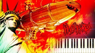 HELL MARCH 2 from C&C RED ALERT 2 - Piano Tutorial