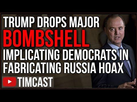 Trump Drops MASSIVE Bombshell Implicating Hillary Clinton, Democrats In Fabricating Russia Gate Hoax