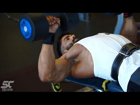 Sergi Constance - How Get A Shredded Chest & Triceps Workout