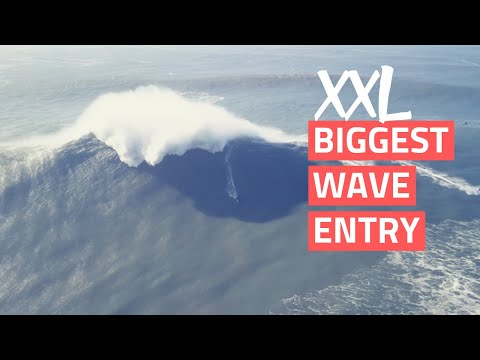 Nazare XXL Biggest Wave Entry (1.18.18)