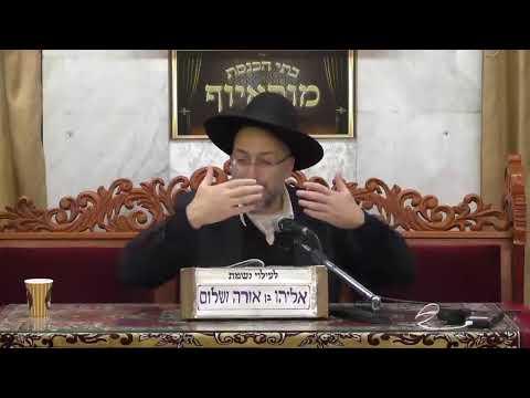 """שידור חי מבית הכנסת מוסאיוף יום ראשון כ""""ב טבת התש""""פ"""