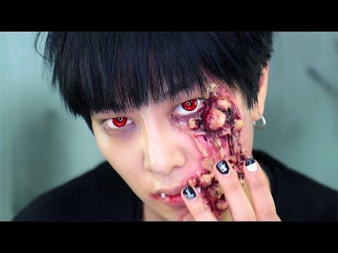 할로윈 뱀파이어 메이크업 Vampire makeup for Halloween 2016 | SSIN