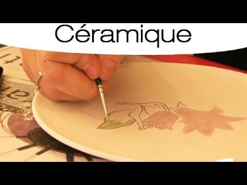 peinture sur c ramique mode d 39 emploi youtube. Black Bedroom Furniture Sets. Home Design Ideas